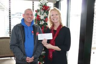 Skagit Roofing LLC Meals On Wheels Donation